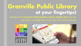 Download the Columbus Metro Library App and access your account!