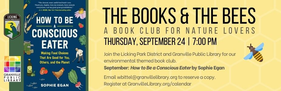 9-24 Books and the Bees Book Club